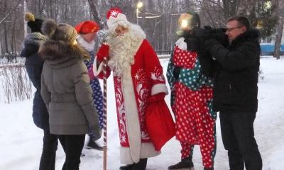 шествие дедов морозов в рязани 2015 добавлением шерсти